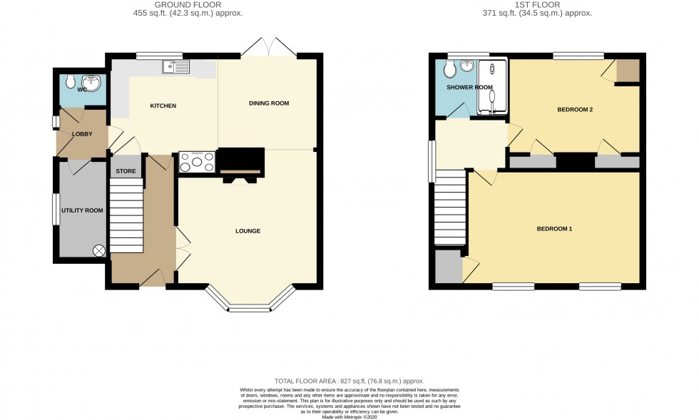 Floorplan for Blaen Y Pant Crescent, Malpas, Newport