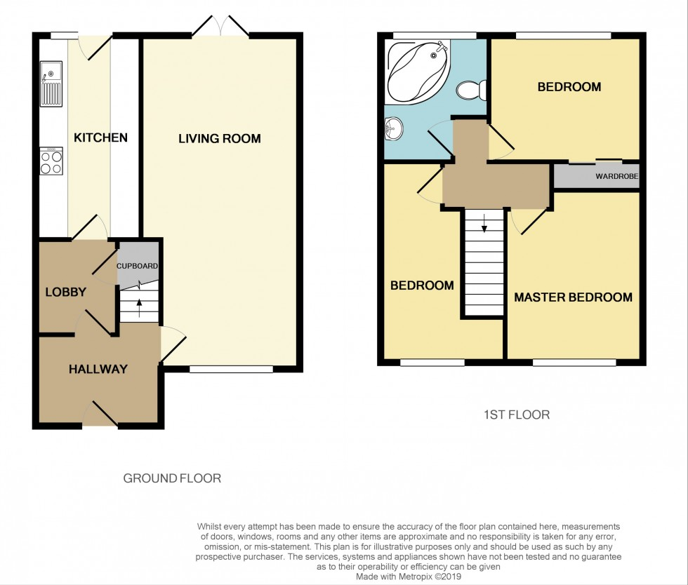Floorplan for Welland Circle, Bettws, Newport