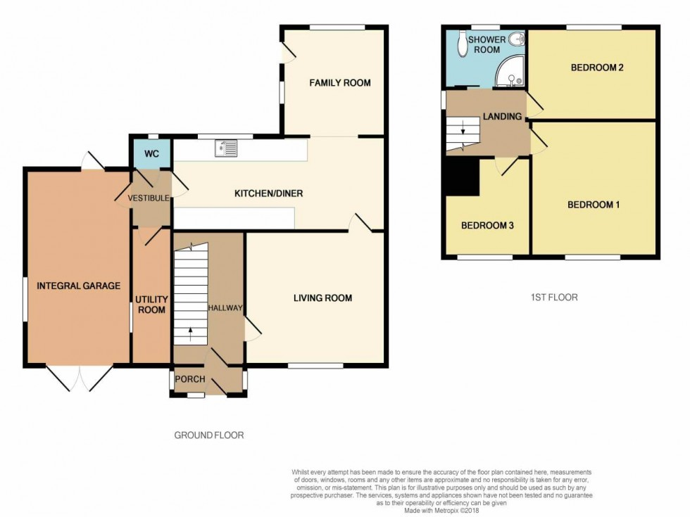 Floorplan for Blackett Avenue, Malpas, Newport