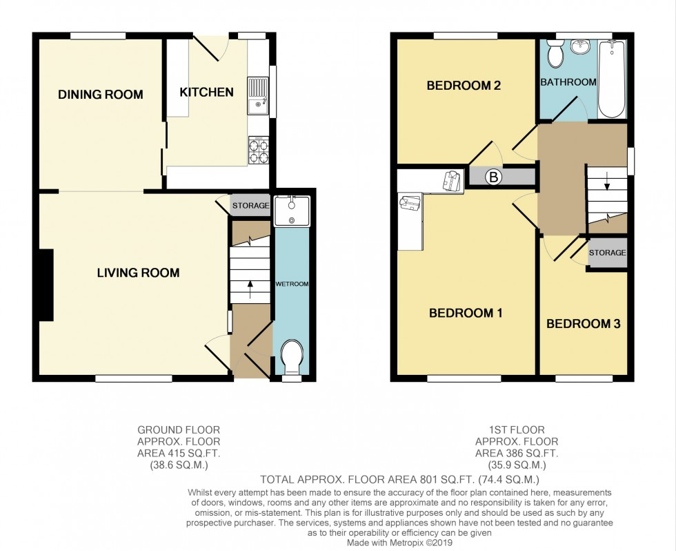 Floorplan for Pilton Vale, Malpas, Newport