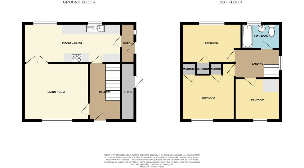 Floorplan for Darwin Drive, Malpas, Newport