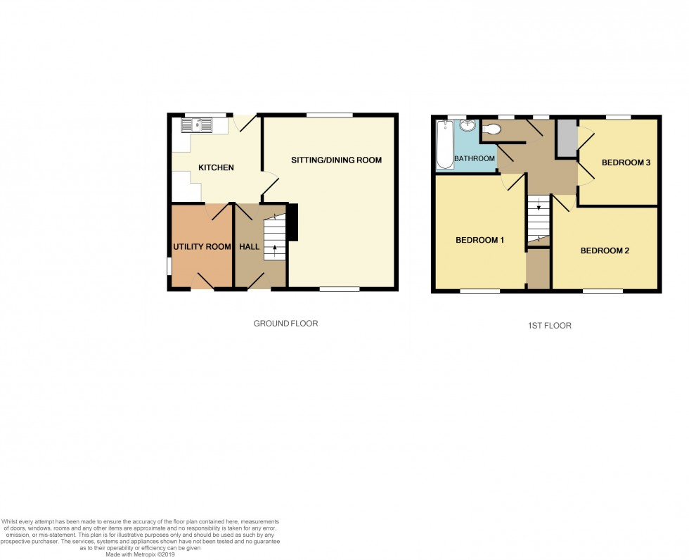 Floorplan for Graig Wood Close, Malpas, Newport