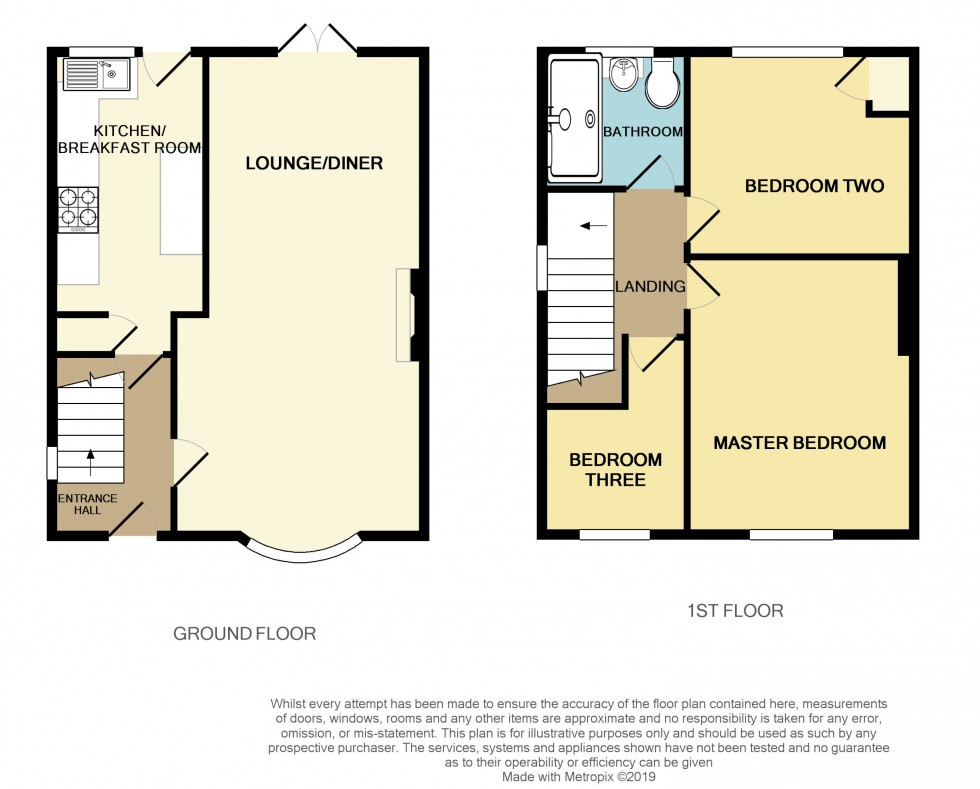 Floorplan for Gaer Park Road, Newport