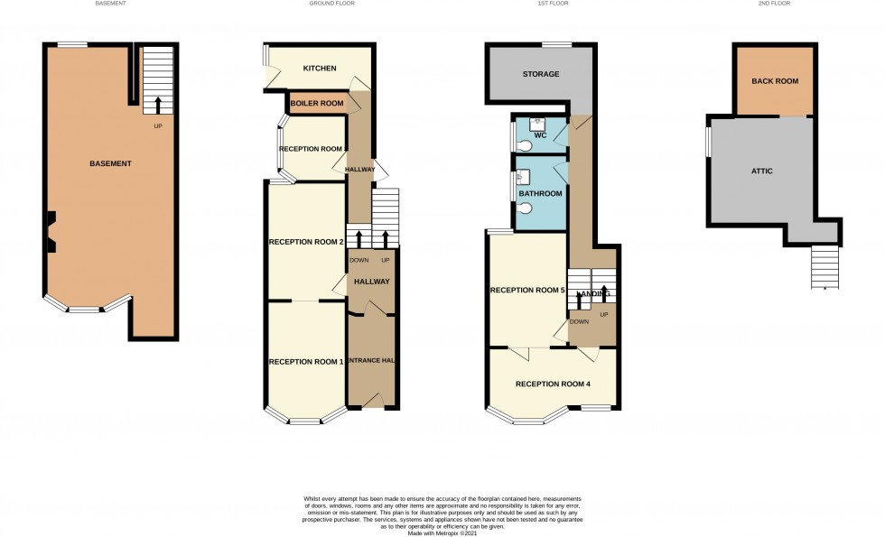 Floorplan for Stow Hill, Newport