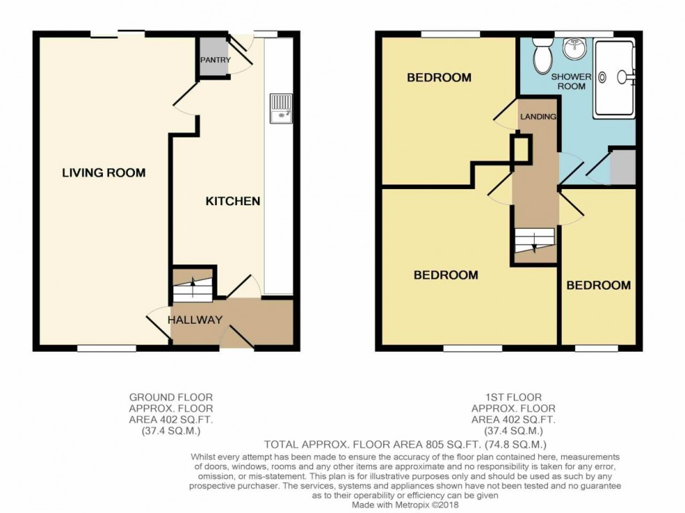 Floorplan for Lambourne crescent, Bettws, Newport