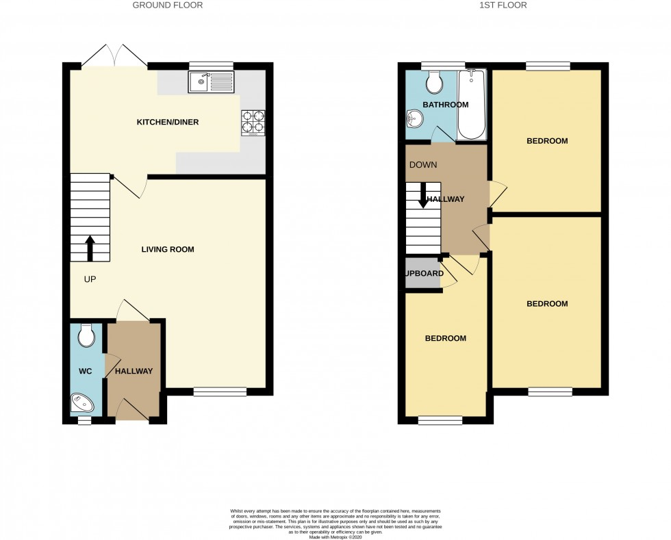 Floorplan for Clos Marteg, Bettws, Newport